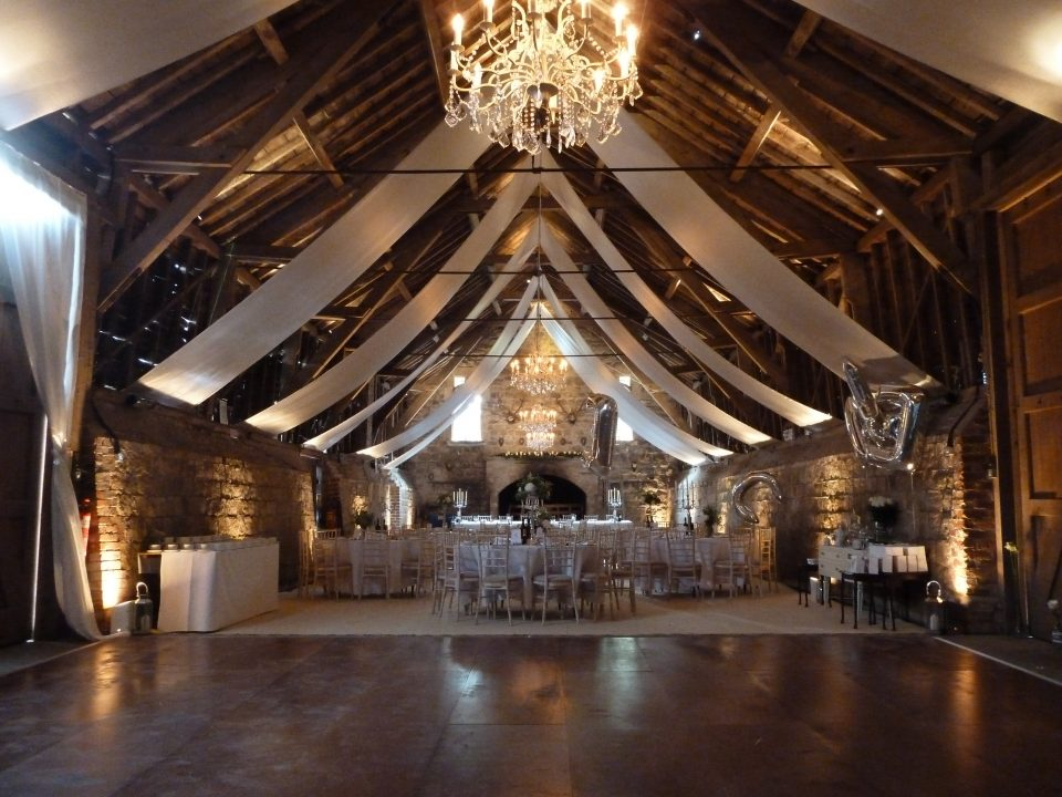 Venue dressing Wick Bottom Barn
