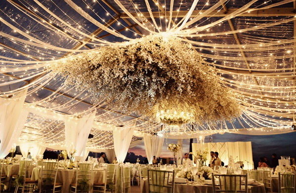 Fairytale Themed Marquee Décor Ideas