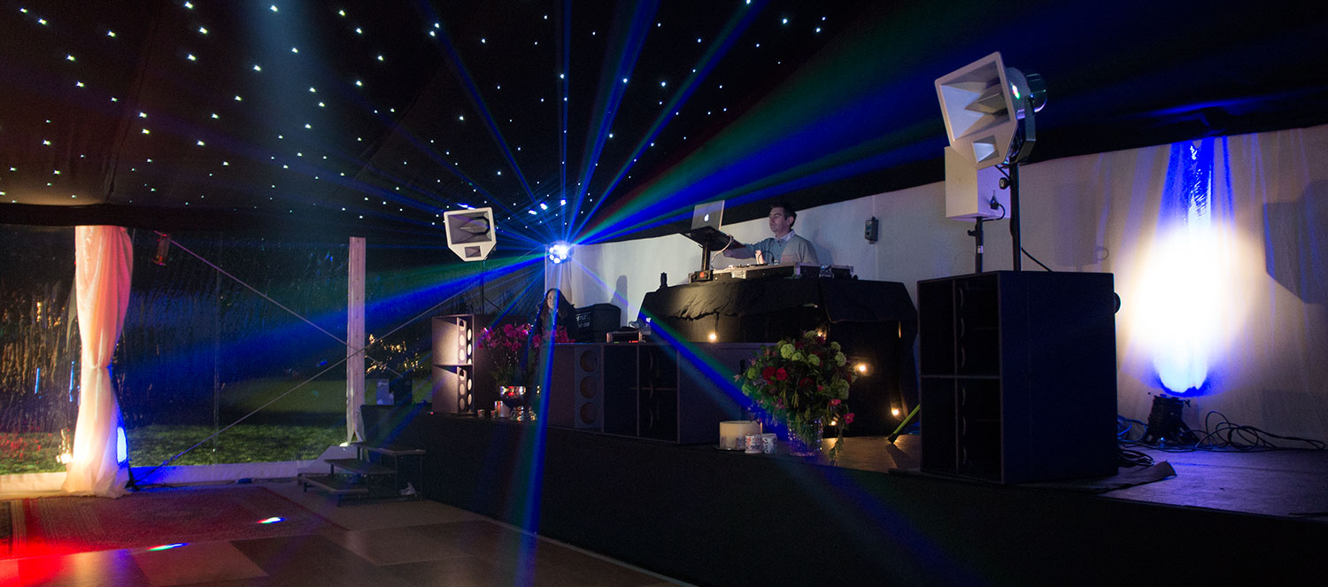 Wedding Marquee DJ