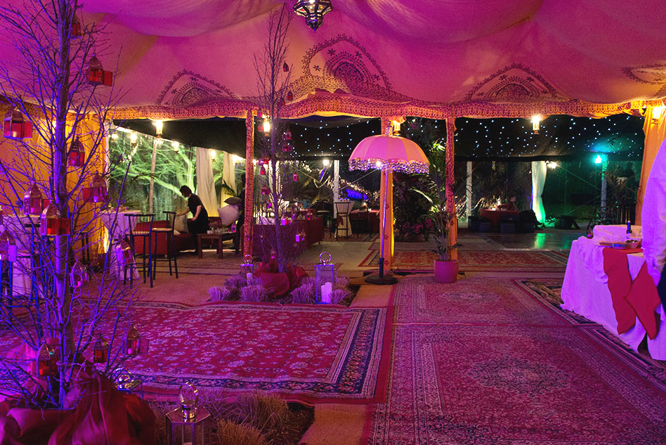 Ethnic Marquee Décor Ideas for Your Marquee