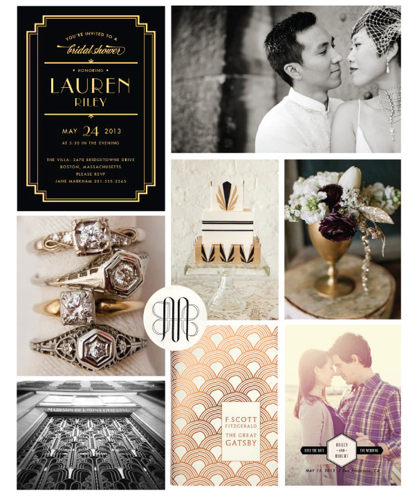 Art Deco Themed Ideas For Your Wedding Marquee